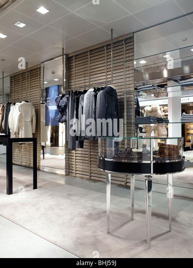 Clothing Store Interior Designer Stock Photos Clothing