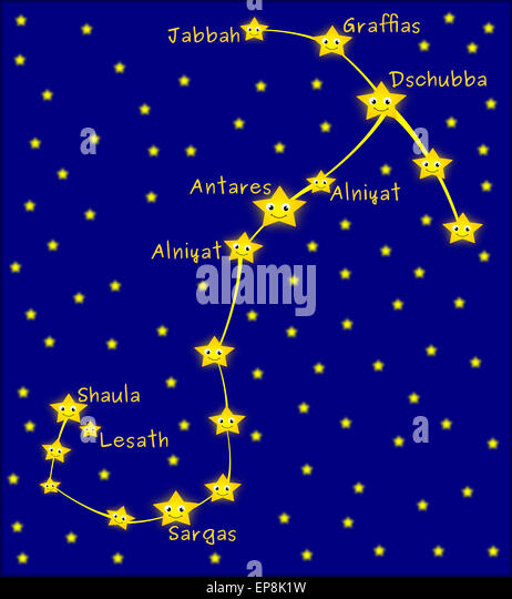 All Constellations Of The Zodiac Scorpius Constellation...