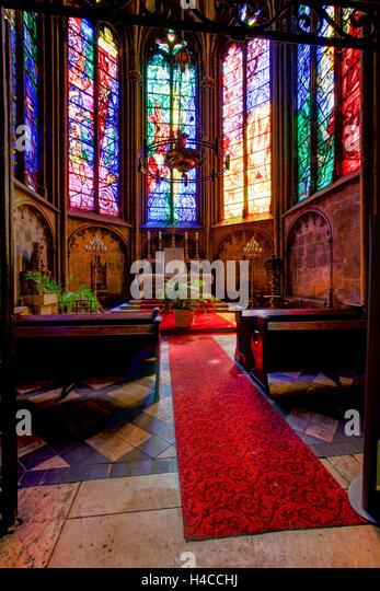 Saint etienne cathedral metz stock photos saint etienne for Bar a champagne saint etienne