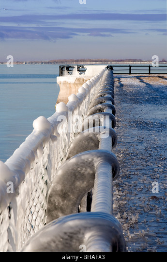 Chain railing stock photos images