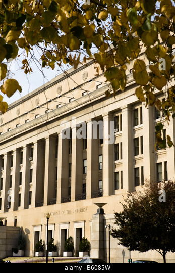 United States Department Of The Interior Stock Photos United States Department Of The Interior