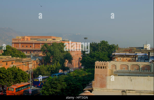 Buses india stock photos buses india stock images alamy for Home architecture jaipur