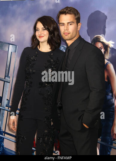 Shailene Woodley And Theo James 2016