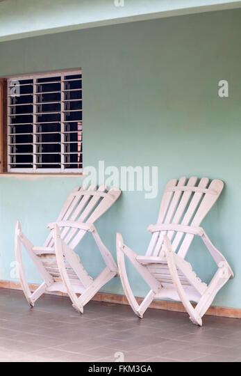 cuban rocking chairs stock photos cuban rocking chairs stock
