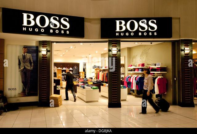 hugo boss shop stock photos hugo boss shop stock images alamy. Black Bedroom Furniture Sets. Home Design Ideas