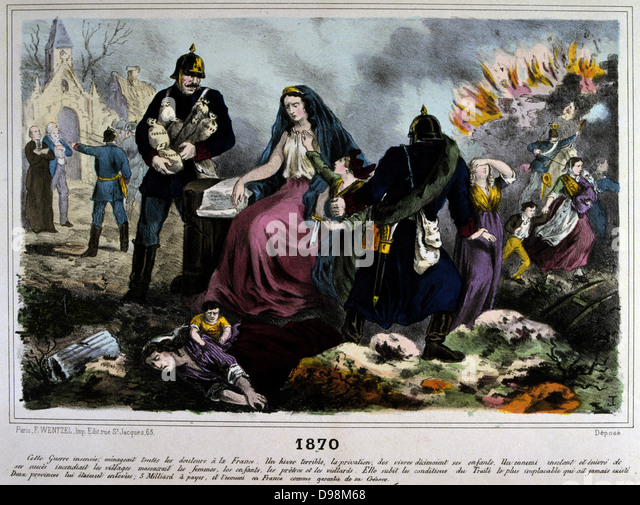a discussion of france after the defeat in the franco prussian war Operational command in the franco-prussian war arthur t coumbe war erupted between france and a confederation of german states led by prussia in july 1870 within a month of the war's first major battle.