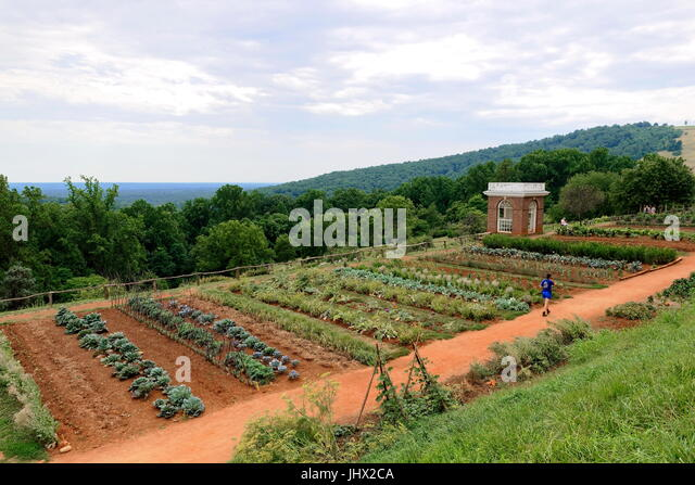 Grounds And Gardens, Monticello, Virginia   Stock Image