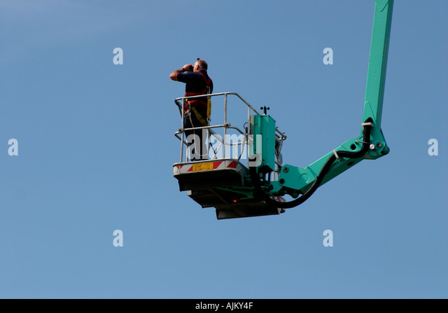 Mobile Elevating Work Platform Cherry Stock Photos & Mobile ...