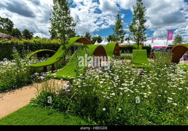 Hampton court palace flower show stock photos hampton - Hampton court flower show ...