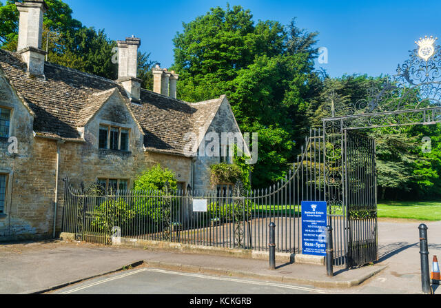 Cirencester Park Gates Gloucestershire UK England
