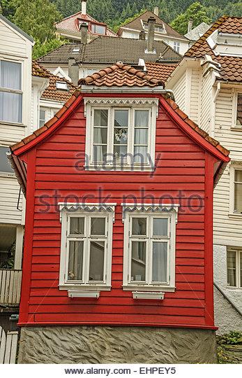 Bergen Norway Houses Stock Photos Bergen Norway Houses