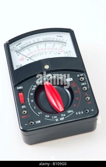 Analog Meter Background : Voltmeter stock photos images alamy