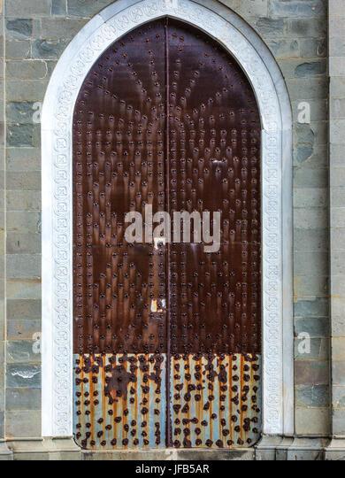 The Doors Of Riomaggiore   Stock Image