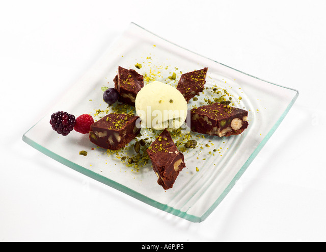 Brownies Ice Cream Stock Photos & Brownies Ice Cream Stock Images ...
