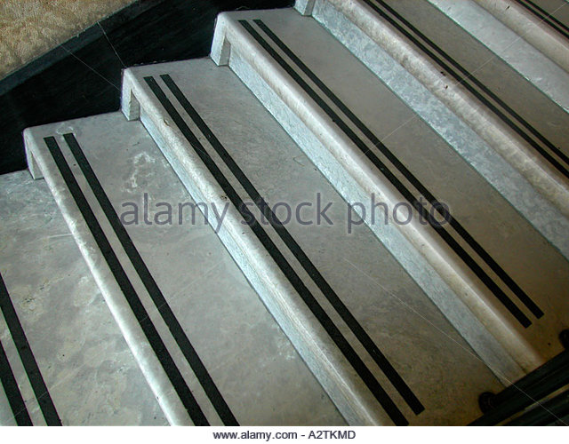 marble stairs anti slip strips stockfotos marble stairs. Black Bedroom Furniture Sets. Home Design Ideas