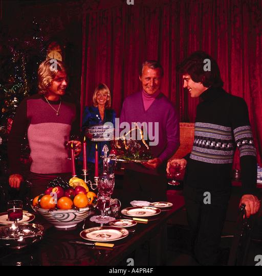 1960s christmas stockfotos 1960s christmas bilder alamy. Black Bedroom Furniture Sets. Home Design Ideas