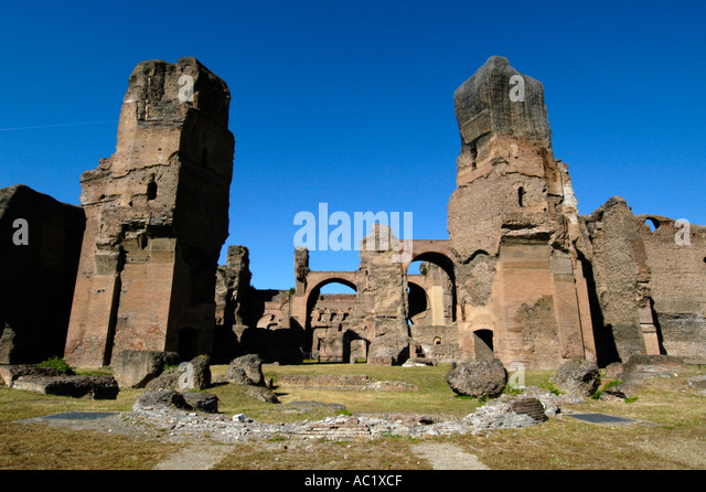 caracalla thermae stockfotos caracalla thermae bilder. Black Bedroom Furniture Sets. Home Design Ideas