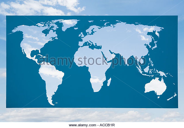 Map stockfotos map bilder alamy for Weltkarte mit fotos