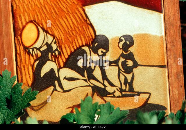 zulu family stockfotos zulu family bilder alamy. Black Bedroom Furniture Sets. Home Design Ideas