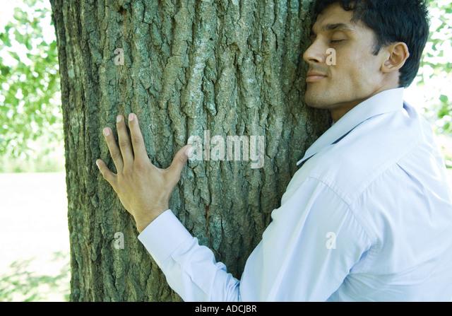 Baum Mann Geheilt