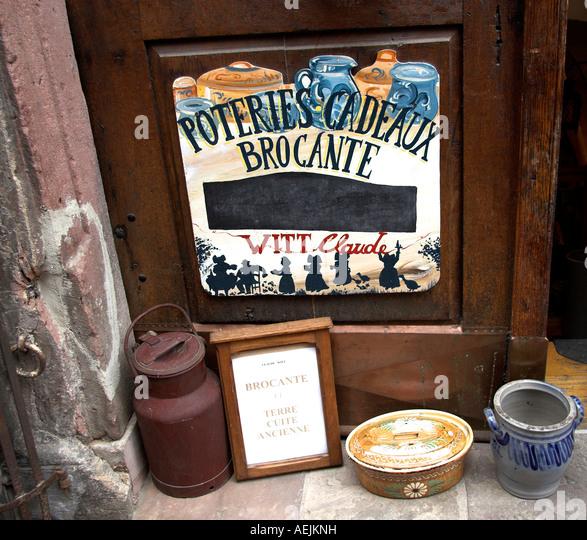 Alsace souvenirs stockfotos alsace souvenirs bilder alamy for Frank dekorationsartikel