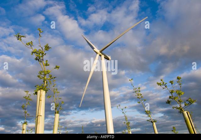 Megawatt windkraftanlage