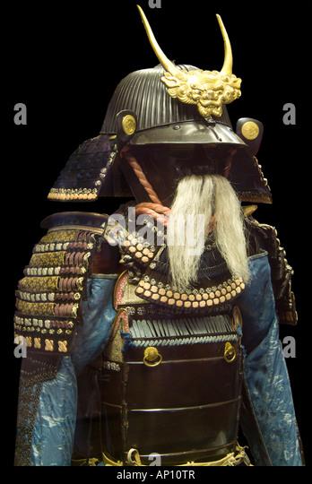 old samurai armour japan stockfotos old samurai armour. Black Bedroom Furniture Sets. Home Design Ideas