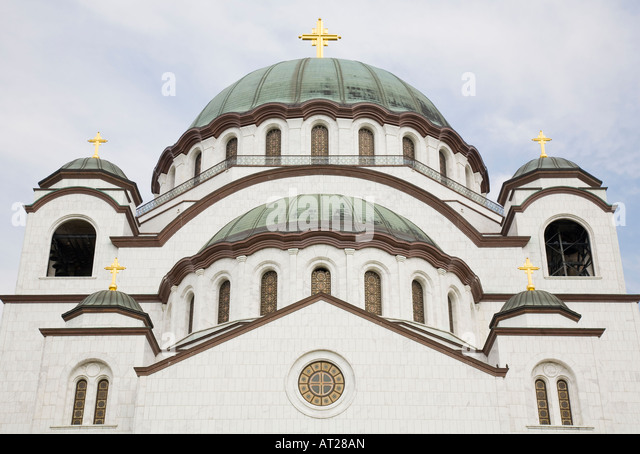 st sava church largest orthodox stockfotos st sava church largest orthodox bilder alamy. Black Bedroom Furniture Sets. Home Design Ideas
