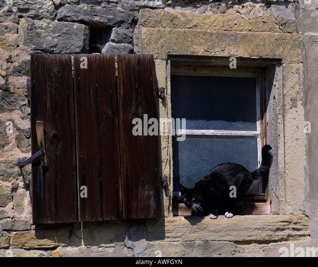 Fensterladen Stockfotos & Fensterladen Bilder