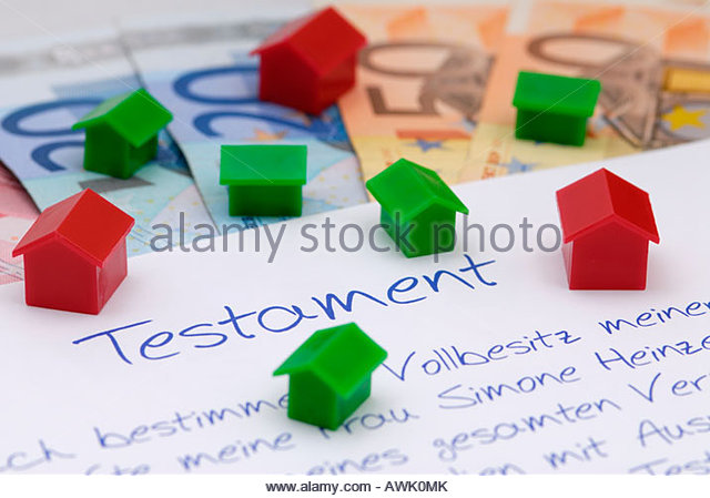 testament stockfotos testament bilder alamy. Black Bedroom Furniture Sets. Home Design Ideas