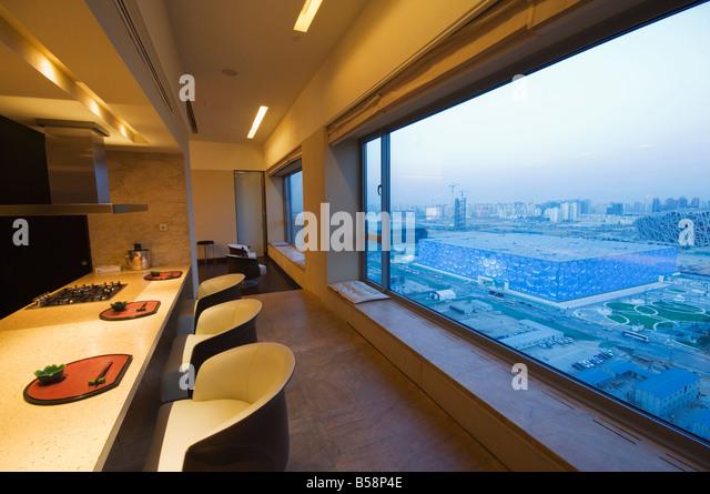 apartment building beijing china stockfotos & apartment building, Innenarchitektur ideen