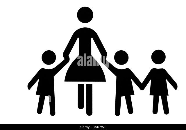 pictogram mother child stockfotos pictogram mother child bilder seite 2 alamy. Black Bedroom Furniture Sets. Home Design Ideas