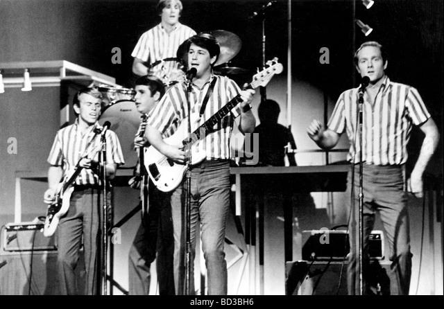 Al Jardine And Brian Wilson 1960s Stockfotos