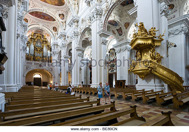 passau cathedral organ stockfotos passau cathedral organ bilder alamy. Black Bedroom Furniture Sets. Home Design Ideas