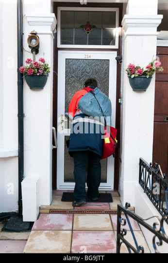 Briefe Nach England : Postman post man stockfotos bilder