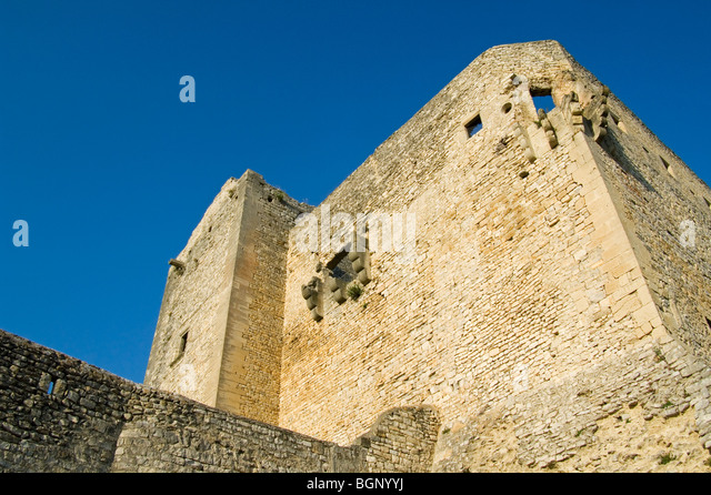 medieval village vaison la romaine stockfotos medieval. Black Bedroom Furniture Sets. Home Design Ideas