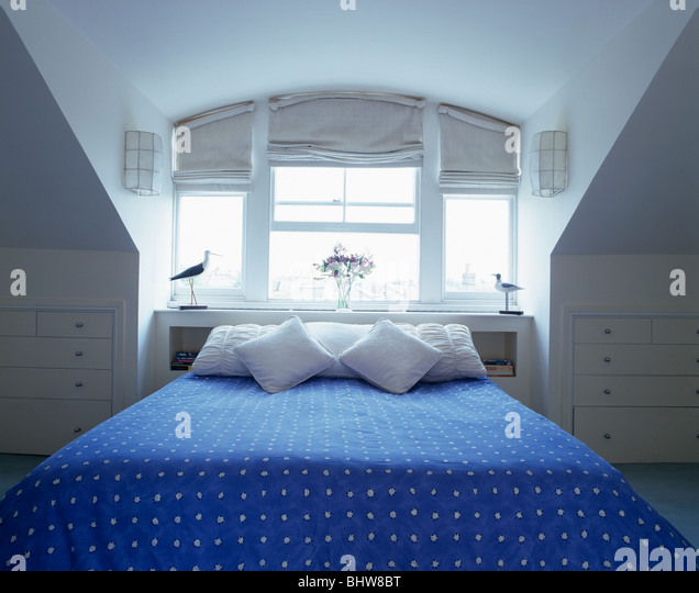 attics bedrooms stockfotos attics bedrooms bilder alamy. Black Bedroom Furniture Sets. Home Design Ideas