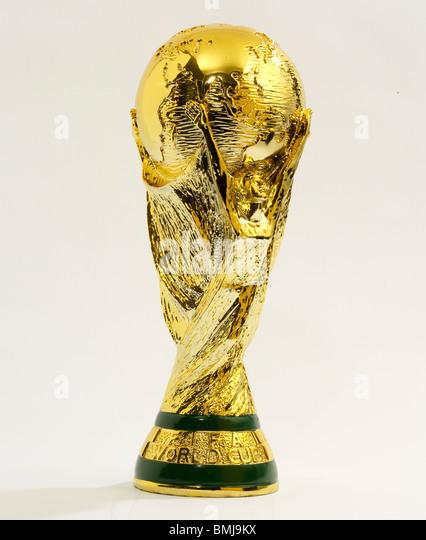 world cup trophy stockfotos world cup trophy bilder alamy. Black Bedroom Furniture Sets. Home Design Ideas