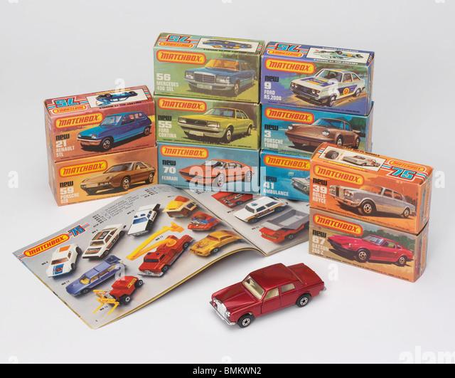 Matchbox cars stockfotos bilder alamy