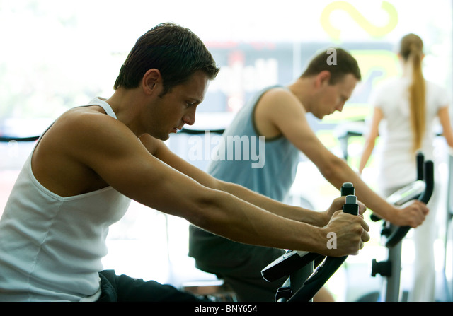 exercise equipment stockfotos exercise equipment bilder. Black Bedroom Furniture Sets. Home Design Ideas