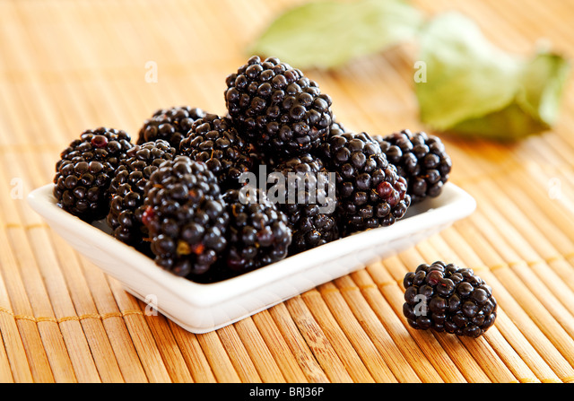 blackberries stockfotos blackberries bilder alamy. Black Bedroom Furniture Sets. Home Design Ideas
