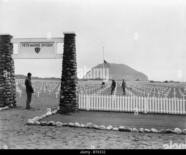 Briefe Von Iwo Jima : Marines iwo jima stockfotos
