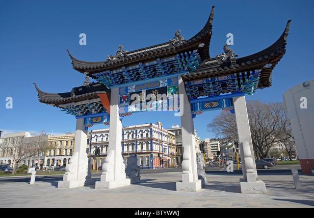 chinese pagoda entrance stockfotos chinese pagoda entrance bilder alamy. Black Bedroom Furniture Sets. Home Design Ideas
