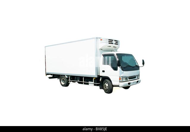 refrigerator truck stockfotos refrigerator truck bilder. Black Bedroom Furniture Sets. Home Design Ideas