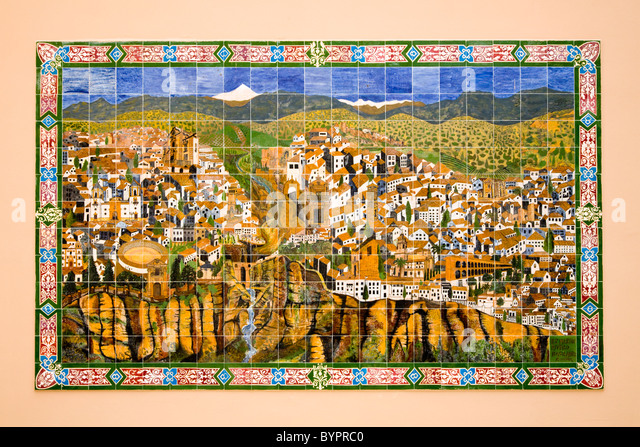 spanish town map stockfotos spanish town map bilder alamy. Black Bedroom Furniture Sets. Home Design Ideas