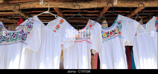 mayan dress mexico stockfotos mayan dress mexico bilder. Black Bedroom Furniture Sets. Home Design Ideas