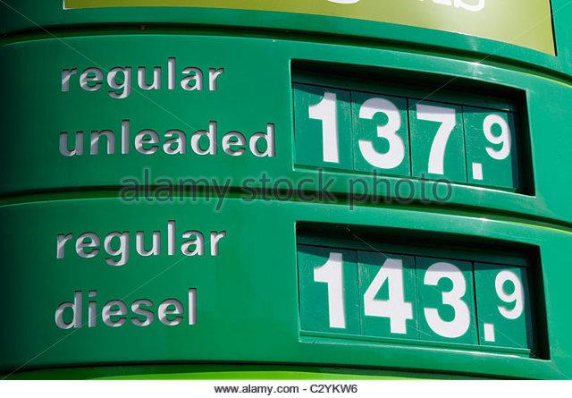 Dieselpreise england