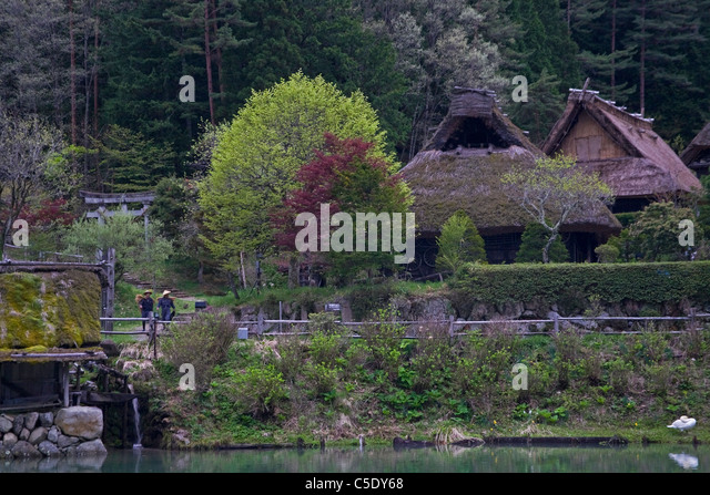 takayama village stockfotos takayama village bilder alamy. Black Bedroom Furniture Sets. Home Design Ideas