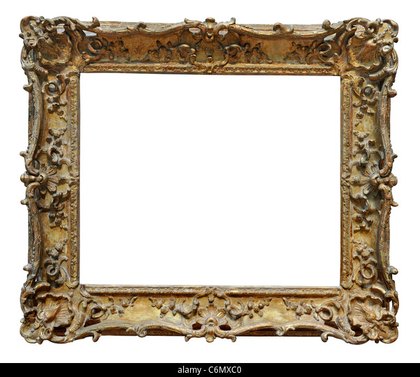 gold floral vintage frame stockfotos gold floral vintage frame bilder alamy. Black Bedroom Furniture Sets. Home Design Ideas