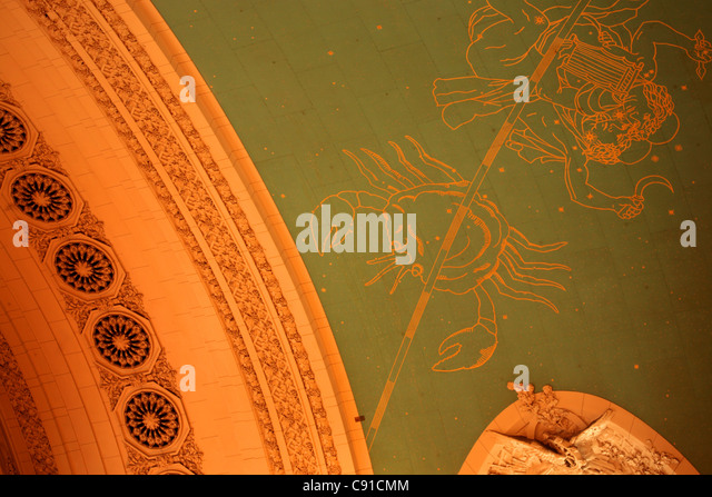 grand central station ceiling stockfotos grand central station ceiling bilder alamy. Black Bedroom Furniture Sets. Home Design Ideas